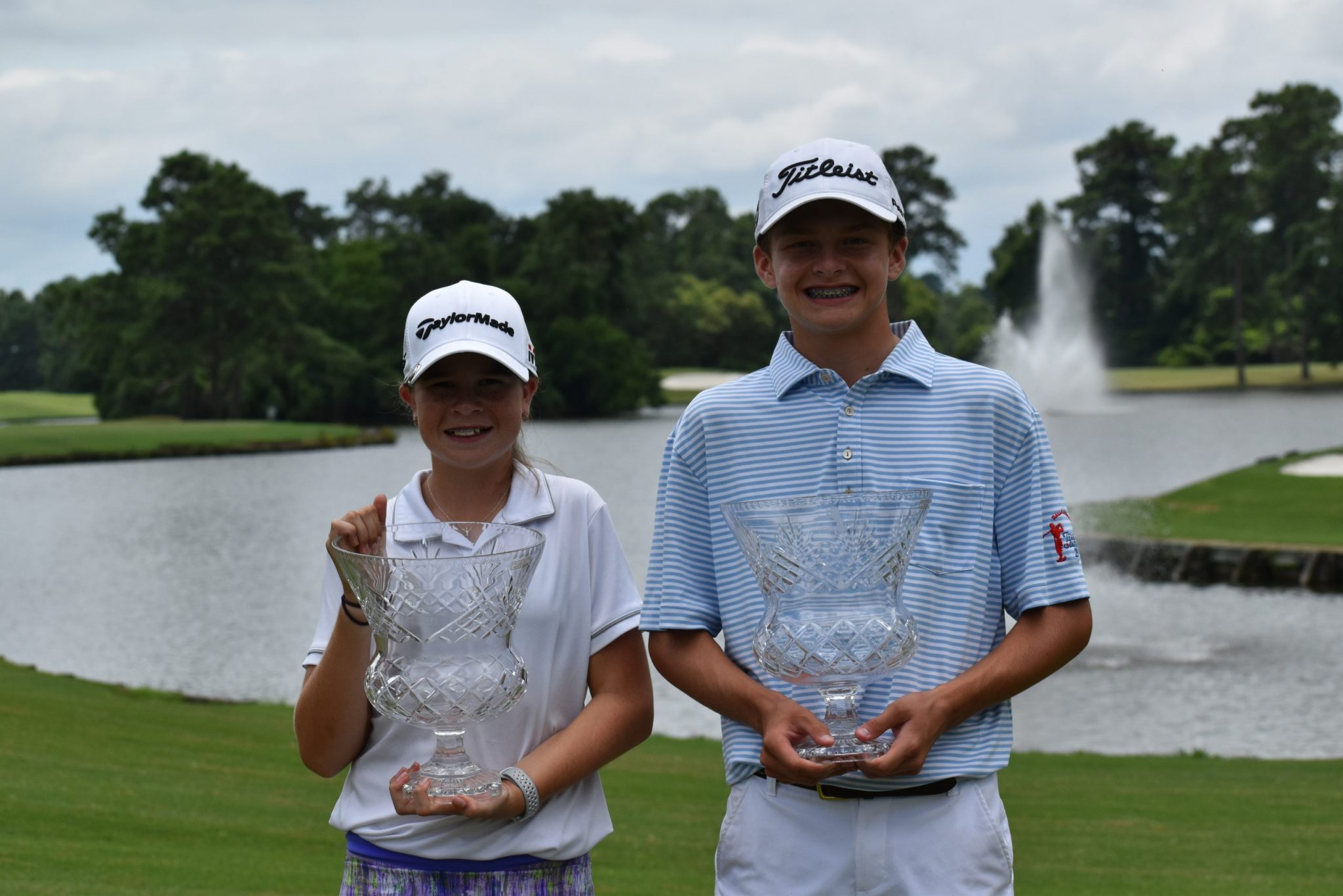 2019 Texas Junior Amateur Boys and Girls 14 Under Champions