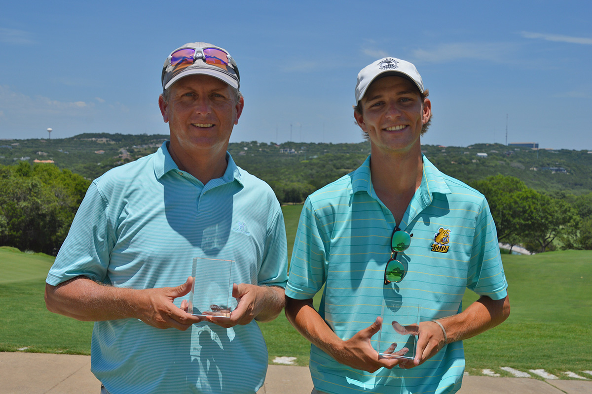 Jeff and Nathan Haley – Presidents Flight Champs